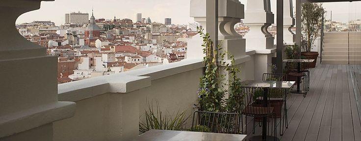 Nice to meet you Sky Lounge - Las mejores vistas 360º del centro de Madrid - Dear Hotel Madrid