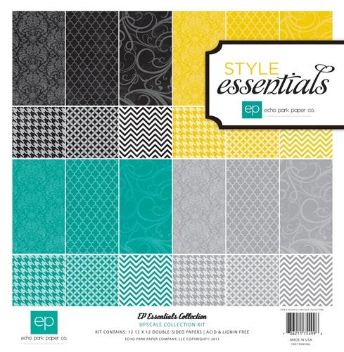 Echo Park - Upscale Collection - 12 x 12 Paper Pack at Scrapbook.com $9.49