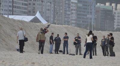 Galdinosaqua no Rio de Janeiro: Corpo esquartejado encontrado em frente à Arena Olímpica do Vôlei de Praia em Copacabana