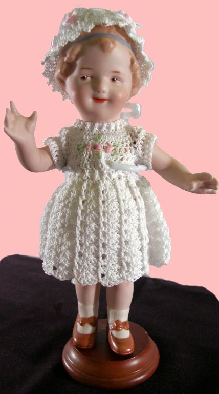 Porcelain Dolls for Sale - Heubach's Adorable Edelweiss