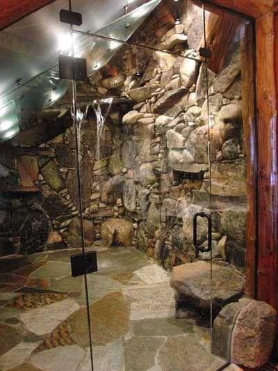 15 ideas para instalar una ducha moderna casa ducha for Duchas rusticas piedra