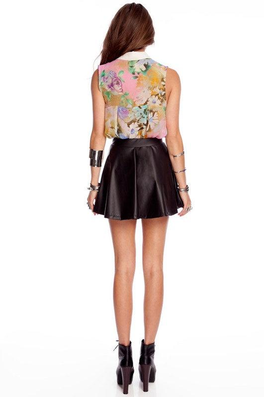 Pleather Skirt 5