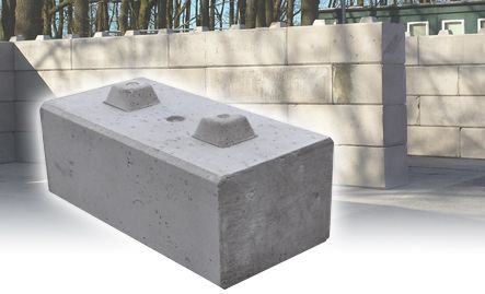 Duo Interlocking Concrete Blocks