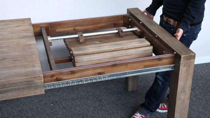 Billig tisch massivholz ausziehbar
