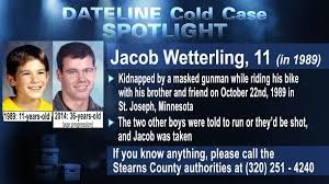Keep Their Memories Alive: Jacob Wetterling RIP