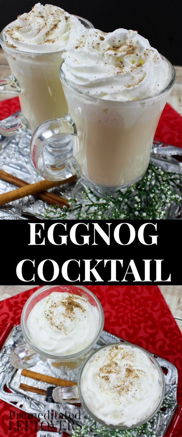 1026 best coffee spirits smoothies images on pinterest drink recipes alcoholic drinks and - Traditional eggnog recipe holidays ...