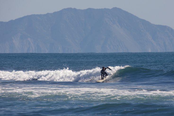 Kamchatka surfing