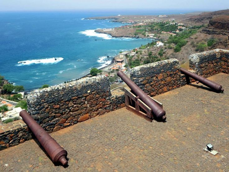 The 16th century Forte Real de São Felipe at Cidade Velha (Ribeira Grande) on the south side of Santiago Island, Cape Verde, is named for King Philip, monarch of a united Portugal and Spain.
