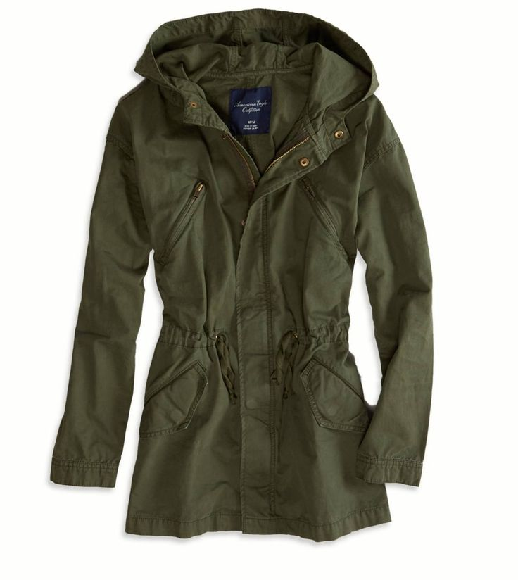 American Eagle Green Anorak,$89.95  Ahhh. I saw this at the mall last night and gosh...I was tempted. It was too expensive though