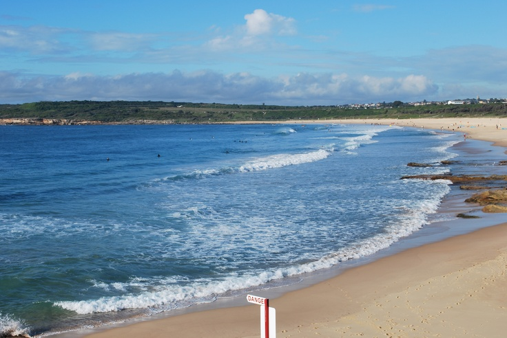 Great surf, not always busy, can usually find a car spot and a Sydney beach I love!! Maroubra.