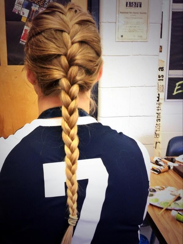 Cute Braided Hairstyles For Volleyball Best 25 Volleyball Braids Ideas On Pint Volleyball Hairstyles Cute Volleyball Hairstyles Volleyball Braids