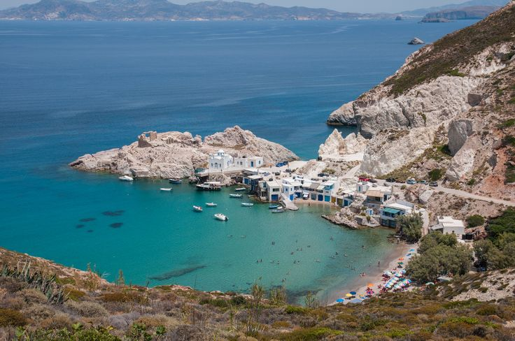 One of the most relaxing and enjoyable beaches of Milos is in the small fishing village of Firopotamos, in the northern part of the island. #beaches, #landscape, #greekislands, #greece, #hdrphotography, #hdr, #firopotamos, #milos,