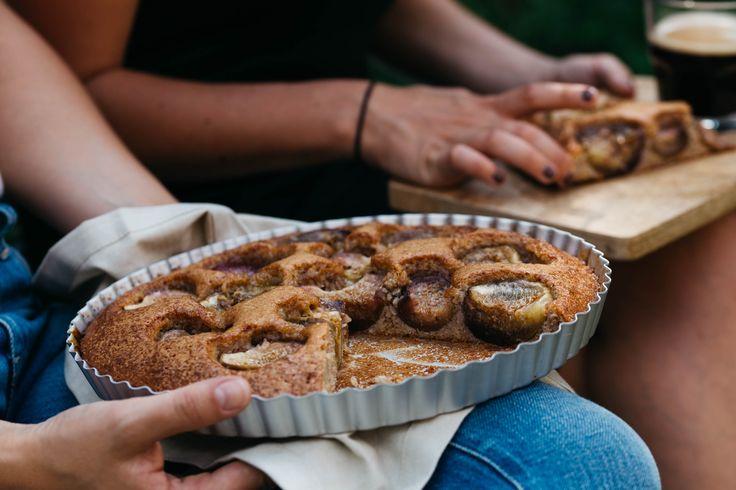 Amandel-vijgentaart | The Breakfast Club