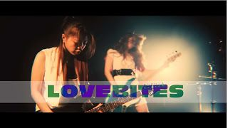 "Midori Tatematsu Miyako Watanabe: Lovebites - Don't Bite The Dust with English lyric subtitles    A music video from the talented girls metal band LOVEBITES debut  mini album ""THE LOVEBITES EP"" released on May 24 2017! Here is a video clip taken from mini album 'THE LOVEBITES EP' which will be released by very talented Japanese girl metal band called LOVEBITES on May 24th 2017! With the soul and pride of Heavy Metal in mind their stories are now It starts. With a lovely look a super powerful…"