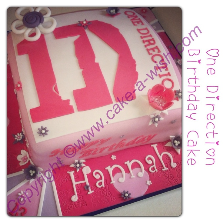 One Direction Birthday Cake