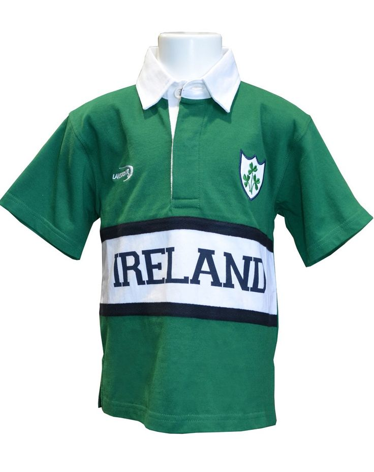 Ireland Kids Rugby Shirt R7155