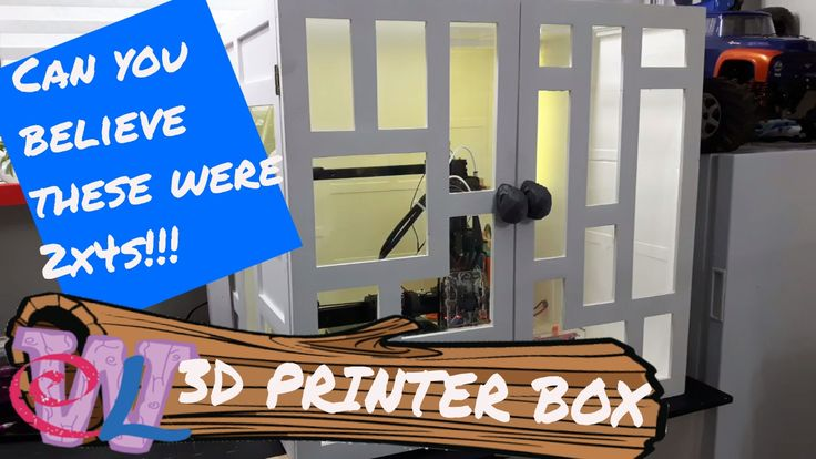 How To Make A 3D Printer Box Out Of 2x4s
