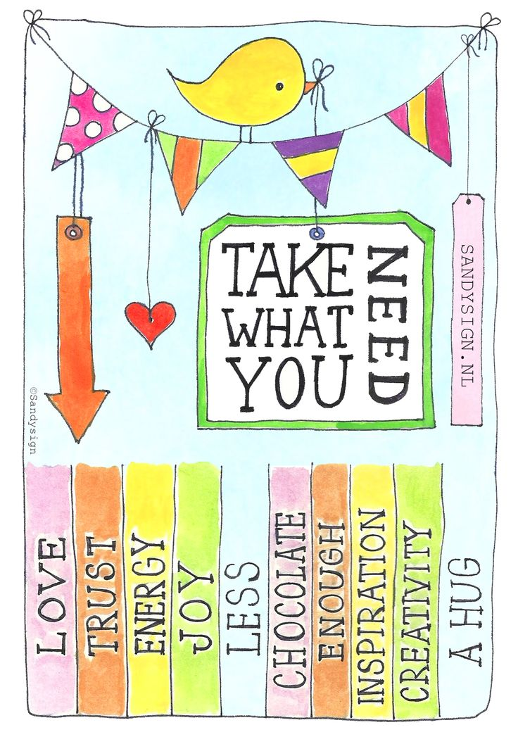 Take what you need!  #Free printable made with love by Sandysign. http://sandysign.nl