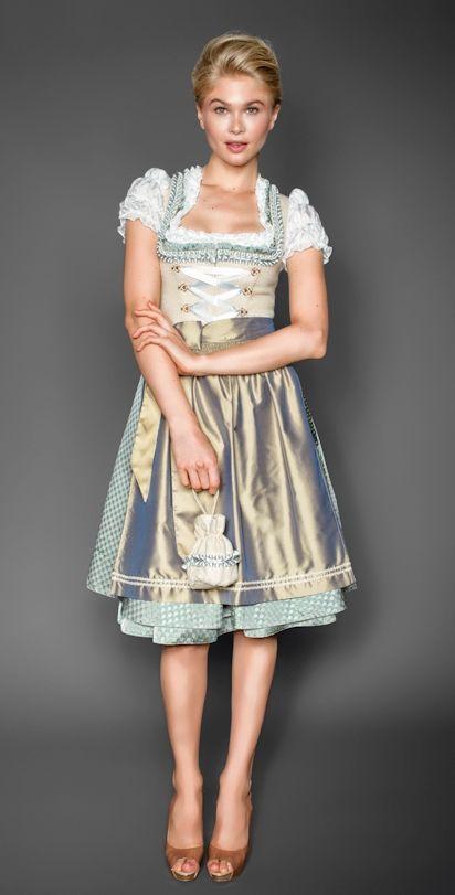 Costumes from Bavaria - Kinga Mathe dirndl 2014