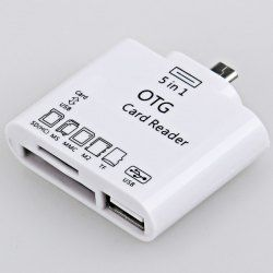 $1.98 OTG Smart Card Reader Connection Kit for Samsung Galaxy Note/Sony Xperia NXSO-02D