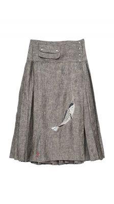 Woman : Skirt Muscari Fish Lantern