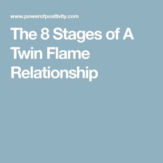 The 8 Stages of A Twin Flame Relationship