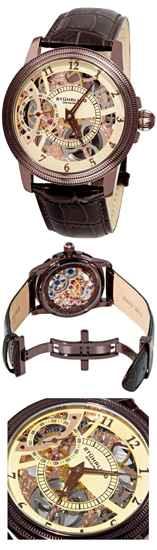 Symphony Saturnalia Brumalia by Stuhrling   The House of Beccaria~ - online mens watches, large mens watches, mens cuff watches