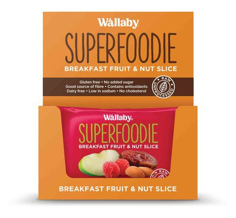 Wallaby - Gluten Free - All Day Fruit and Nut Slices - Apple Raspberry
