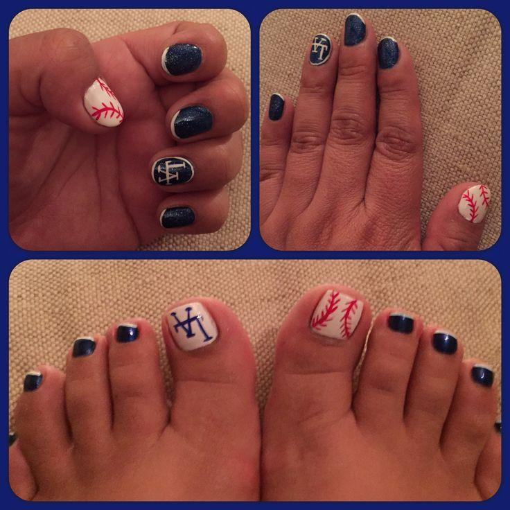 11 best Los Angeles Dodgers images on Pinterest | Dodger nails ...