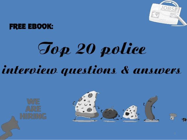 16 best sample police interview questions images on Pinterest - sample interview questions