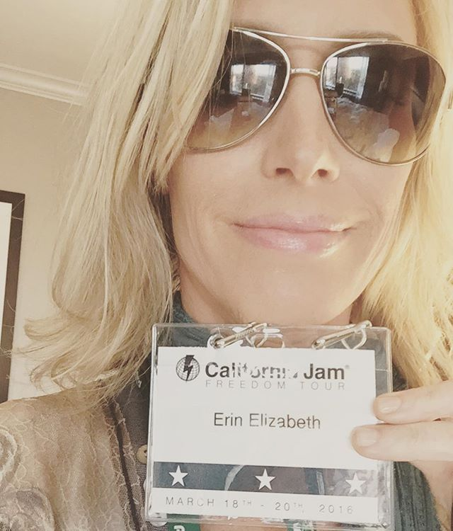 #Caljam #healthnut honored to get #standingovation and going to #rock out with the #band now