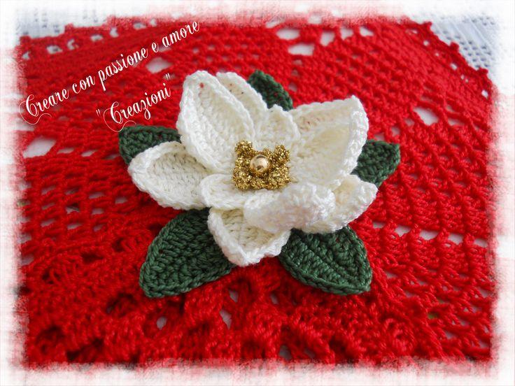 Portatovaglioli ad uncinetto by https://www.facebook.com/CreareconpassioneeamoreCreazioni/ #crochet #handmade #lemaddine #papertowels