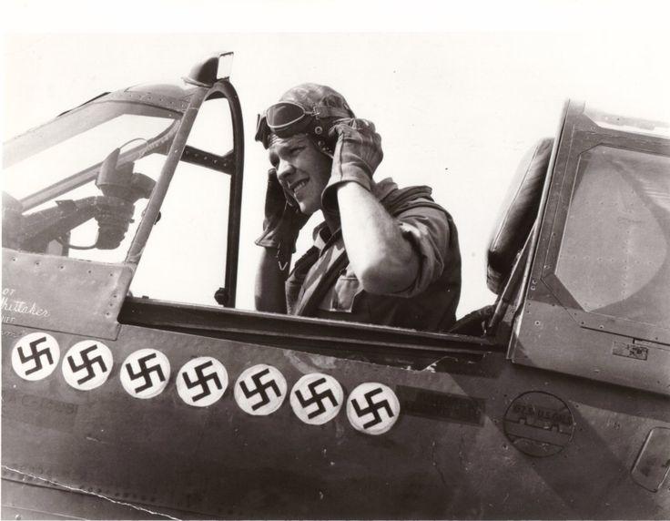 US WW2fighter ace; Roy Whittaker.