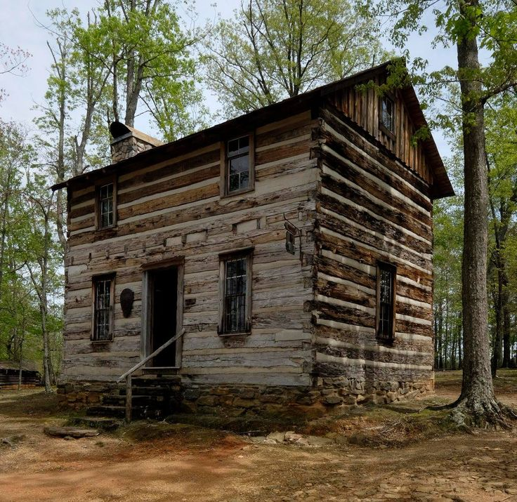 87 best primitive square cut log cabins and such images on for Square log cabin