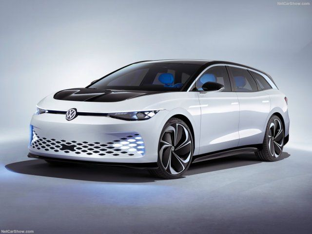 A Guideline Of German Cars From 1946 To Today 2019 Vw Id Space Vizzion Electric Concept My Car Volkswagen Station Wagon German Cars