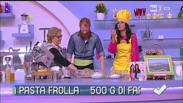 Daniela De Simone prepara la pastiera napoletana - Detto fatto del 21/04...