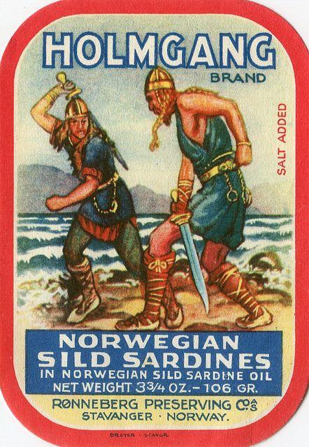Sardines can