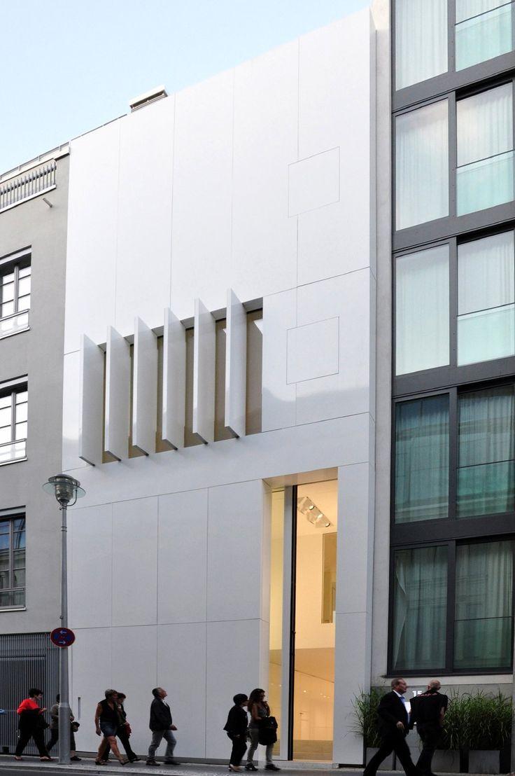 Townhouse in Berlin / Alleinstellungsmerkmal Abstraktion - Architektur und Architekten - News / Meldungen / Nachrichten - BauNetz.de