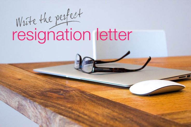 Resignation Letter To Place You Hate