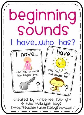 Beginning Sound FREEBIE