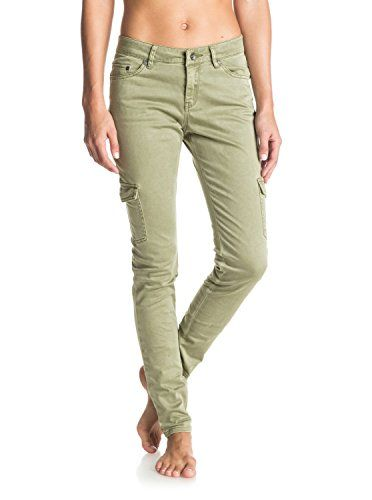 New Trending Pants: Roxy Womens Roxy Cargo City - Cargo Pants - Women - 29 - Green Oil Green 29. Roxy Womens Roxy Cargo City – Cargo Pants – Women – 29 – Green Oil Green 29   Special Offer: $37.07      355 Reviews Cargo pants for women. Features include: stretch sateen fabric, skinny fit, the slimmest in the range, two cargo pockets, printed pocketing, ROXY...