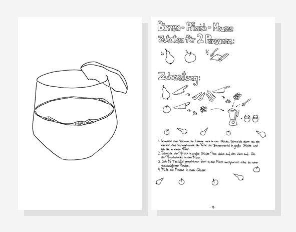 Ausmal Rezept Fur Kinder Von Trixilies Allerersten Rezepten Printable Coloring PagesVegan RecipesAdobe