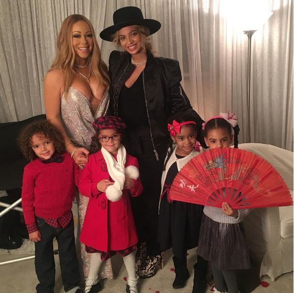 Beyonce and Blue Ivy Spotted With Mariah Carey and Her Twins