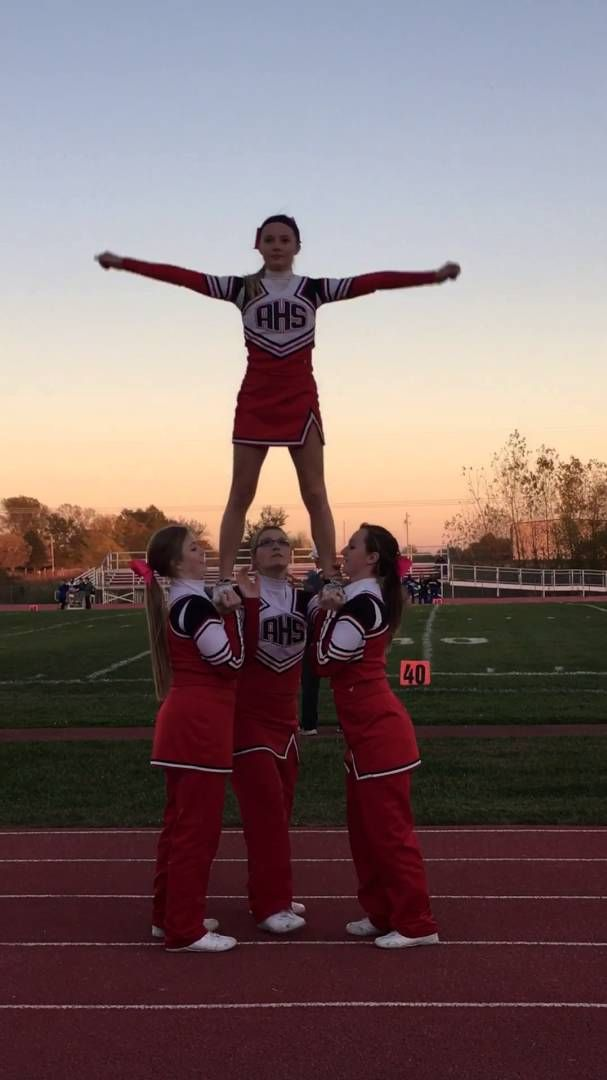 498 best images about cheer stunts on pinterest uca