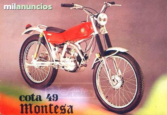 MIL ANUNCIOS.COM - Montesa cota 49. Compra-venta de motos clásicas montesa cota 49. Motos antigüas de ocasión montesa cota 49.