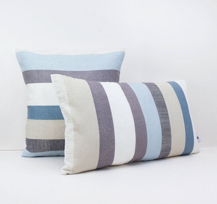 Striped Linen Throw Pillow : 41 best Stripe Throw Pillows images on Pinterest Pillowcases, Cushion covers and Cushions