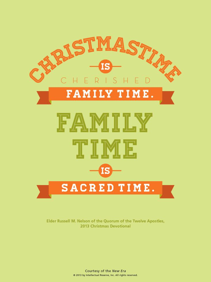 Lds Christmas Quotes.Christmas Family Time Quotes Quotes Of The Day