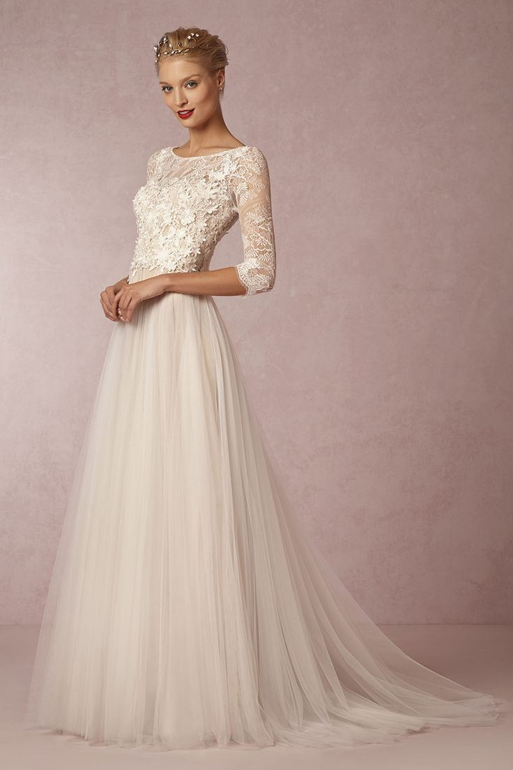 Amelie Gown // Meet Me in the Garden: BHLDN's Spring 2015 Collection #tulle #skirt