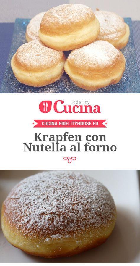 Krapfen con Nutella al forno