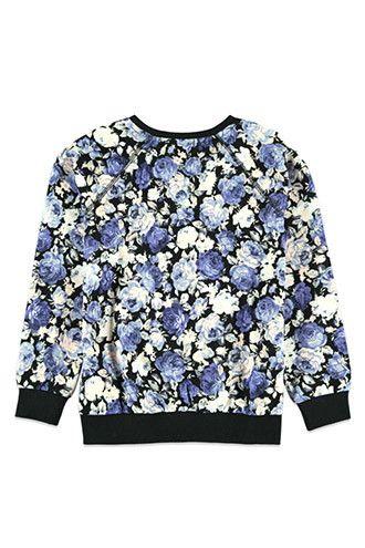 Girls Floral Sweatshirt (Kids)